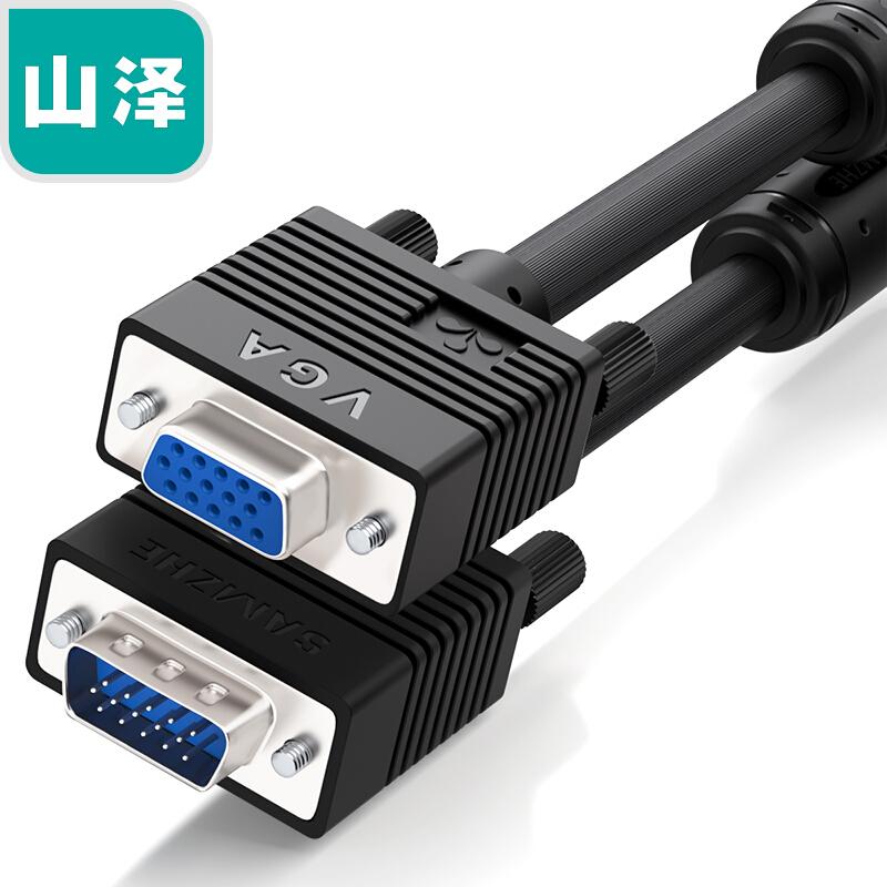 VGA3+6黑頭針對孔    VF-9030